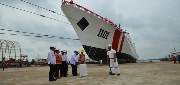 Bakamla RI Luncurkan Kapal Patroli Buatan Putra-Putri Indonesia