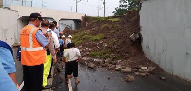 Longsor di Perimeter Underpass Bandara Soekarno-Hatta Tewaskan Satu Orang