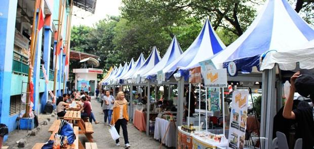 Kolaborasi HIPMI Jaya - PPM School Meriahkan Market Fest 2018
