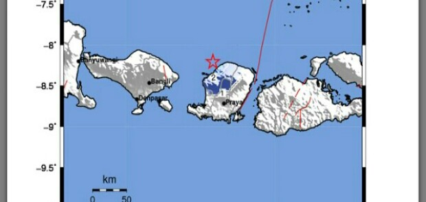 Gempa Besar di Lombok Tewaskan 82 Orang