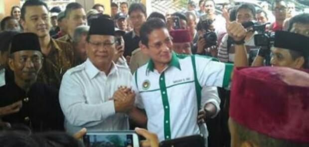 Clear Sandiaga Uno Cawapres Prabowo, Hari Ini Dideklarasikan