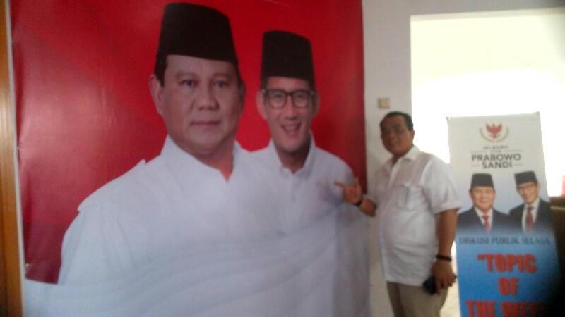 Munir Dapat Bantuan 1.400 Saksi dari Roemah Djoeang Prabowo-Sandi
