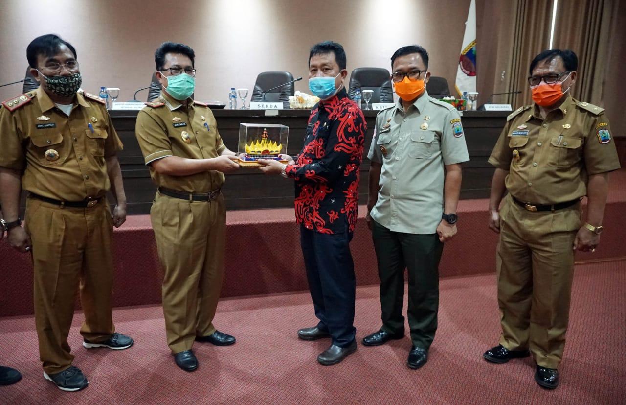 Kunjungi Lampung Selatan, Seluma Belajar Kelembagaan dan Tata Laksana Organisasi