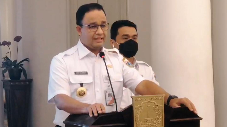 Rem Darurat Ditarik, Anies Tutup Perkantoran Mulai 14 September