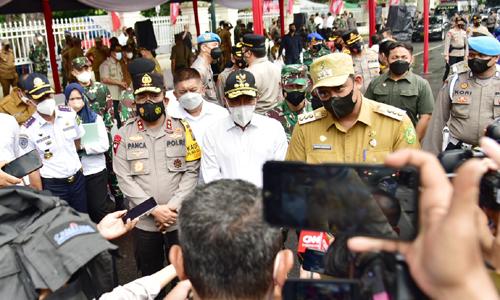 PPKM Darurat di Kota Medan Gubernur Edy Rahmayadi Sebut Semua Kabupaten/Kota Harus Berpartisipasi