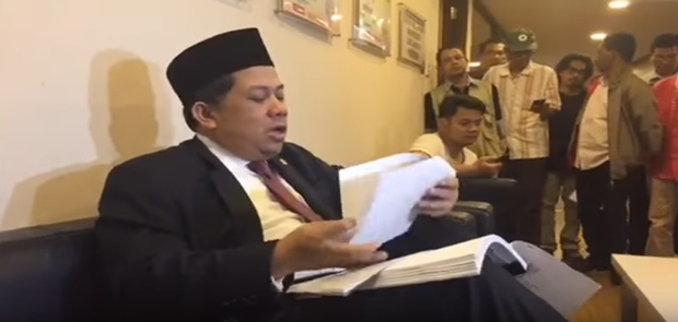 Fahri Hamzah Singgung Ketua KPK Terlibat Kasus E-KTP