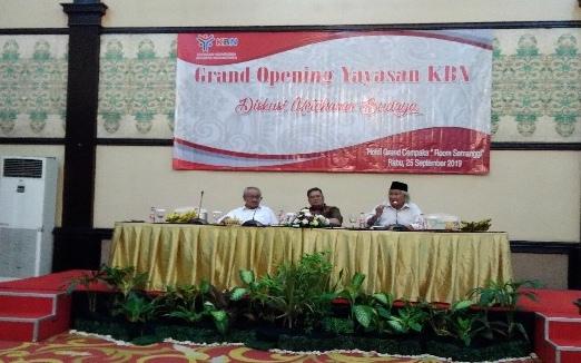 Pembentukan Yayasan Kharisma Budaya Nusantara