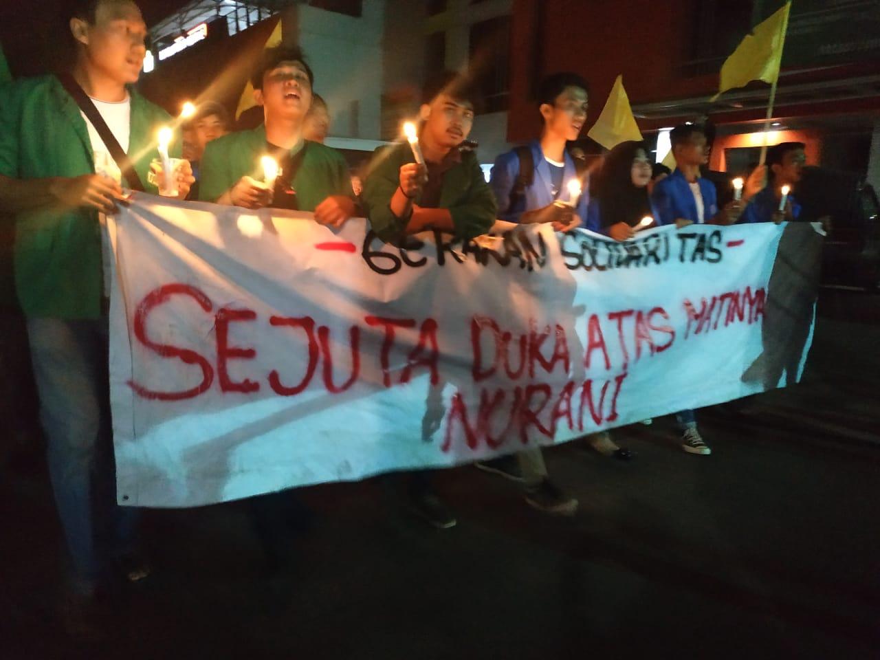 Tuding Kesewenang-wenangan Aparat, Komando Gelar Renungan 'Sejuta Duka Atas Matinya Nurani'