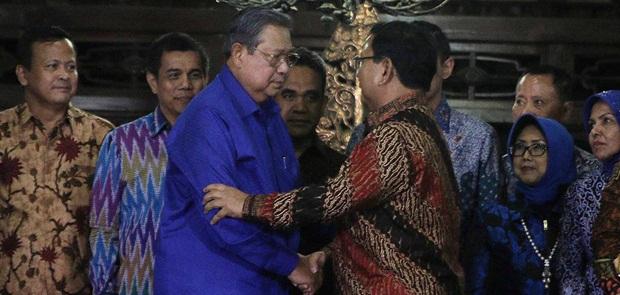 Dicap Jenderal Kardus, Prabowo Tetap Gelar Pertemuan dengan SBY