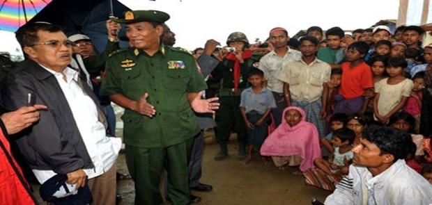 Wapres Minta Isu Rohingya Tidak Meluas ke Indonesia