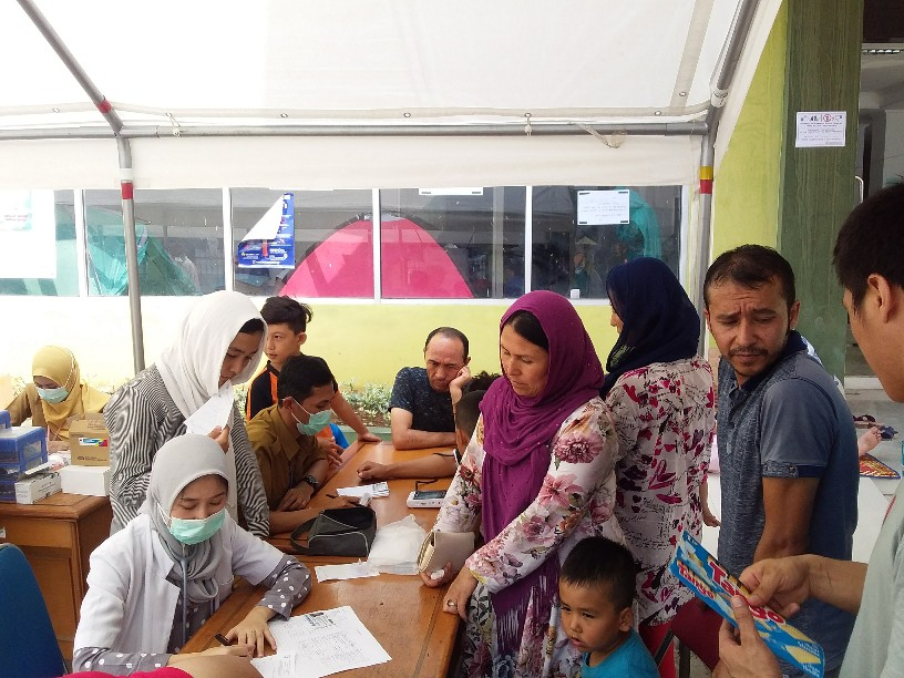 Mulai Diserang Penyakit, Dinkes DKI Beri Bantuan Kesehatan ke Pengungsi