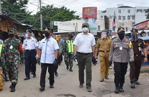 Tondi Nasution: Pasar Zona Rawan Penularan COVID-19, Kedepankan Aturan Physical Distancing