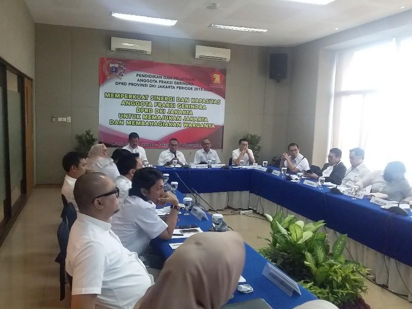 Maksimalkan Tugas dan Fungsi, 19 Anggota Fraksi Gerindra Ikuti Bimtek