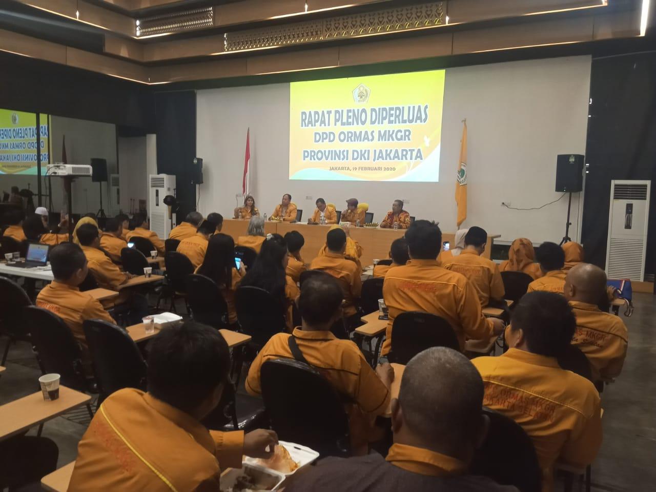 Gelar Rapat Pleno, MKGR DKI Solid Dukung Ahmet Zaki Jadi Bos Beringin Ibukota
