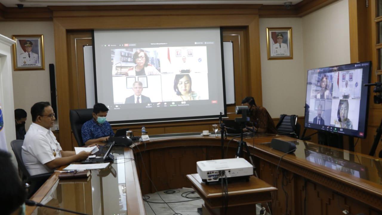 Dubes Inggris Bantu Mutakhirkan Platform Covid-19 Di Jakarta