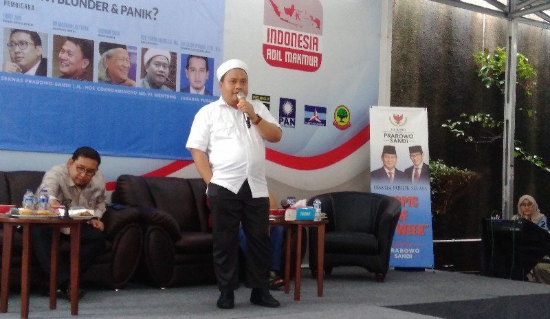 Kubu Jokowi Dinilai Lakukan Politisasi Agama yang Luar Biasa