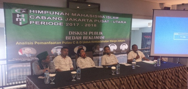 Inilah Solusi HMI Jakarta Utara pada Reklamasi Teluk Jakarta