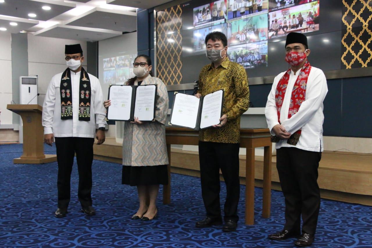 Sediakan JakWIFI di 9 Ribu Titik, Anies Permudah PJJ Warga Jakarta