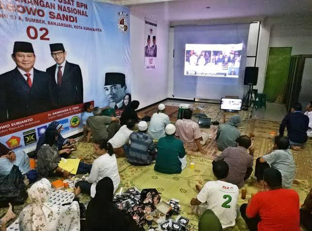 BPN Prabowo-Sandi Gelar Nobar Debat Capres Kedua, Ini Lokasinya