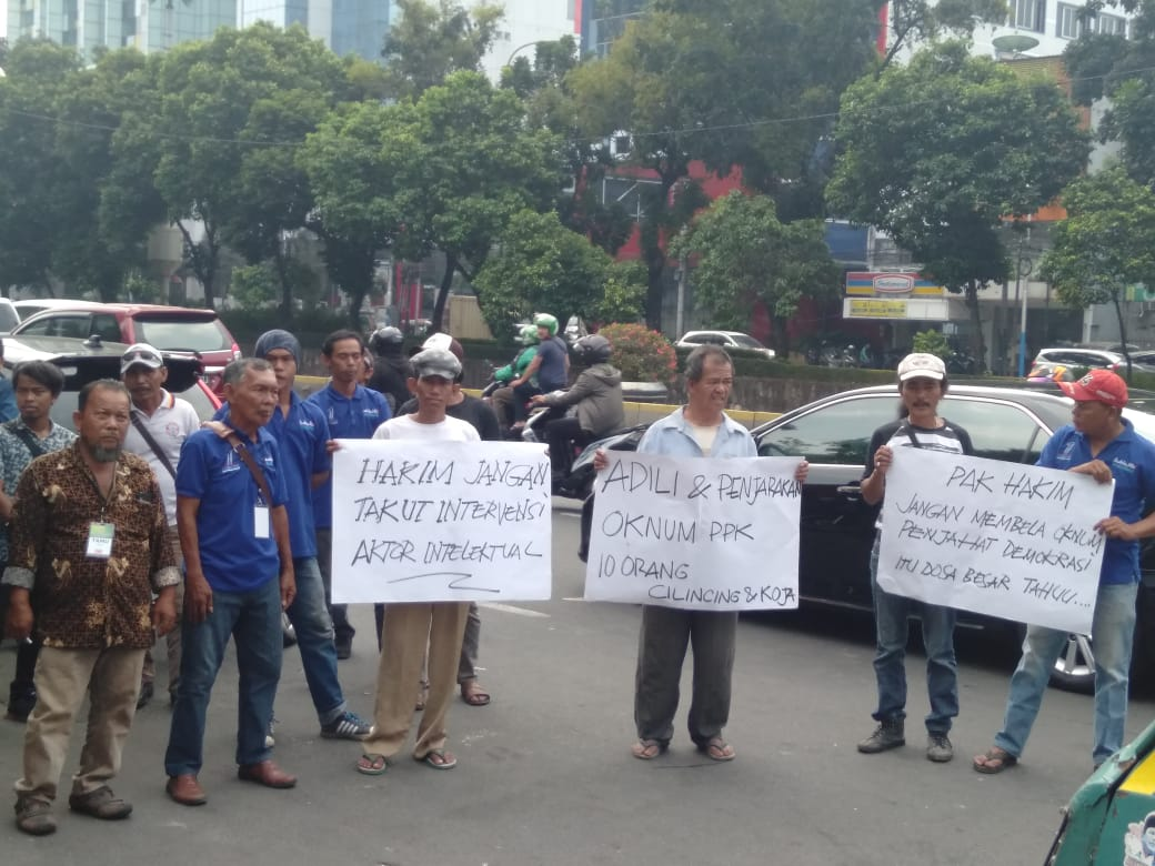 Sidang Putusan Lima PPK Koja, AMPPU Jakut Minta Hakim Bersikap Adil