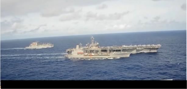 Korea Utara Siaga Perang setelah Kapal Induk Amerika Mendekat
