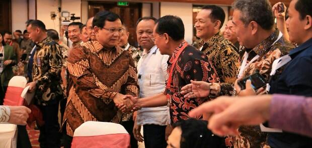 300 Purnawirawan TNI Deklarasi Dukung Prabowo-Sandi