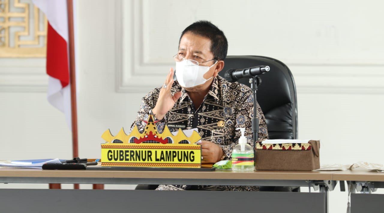 Gubernur Lampung Pastikan Ketersediaan Bahan Pangan dan Kestabilan Harga di Pusat Perbelanjaan Menje...