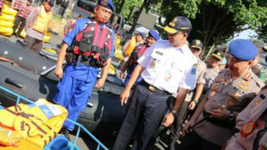 Pemprov DKI dan Kepolisian Gelar Tanggap Musim Penghujan