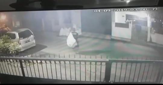 Berlagak Pemulung, Pencuri di Tangerang Berhasil Gondol Laptop dan Uang