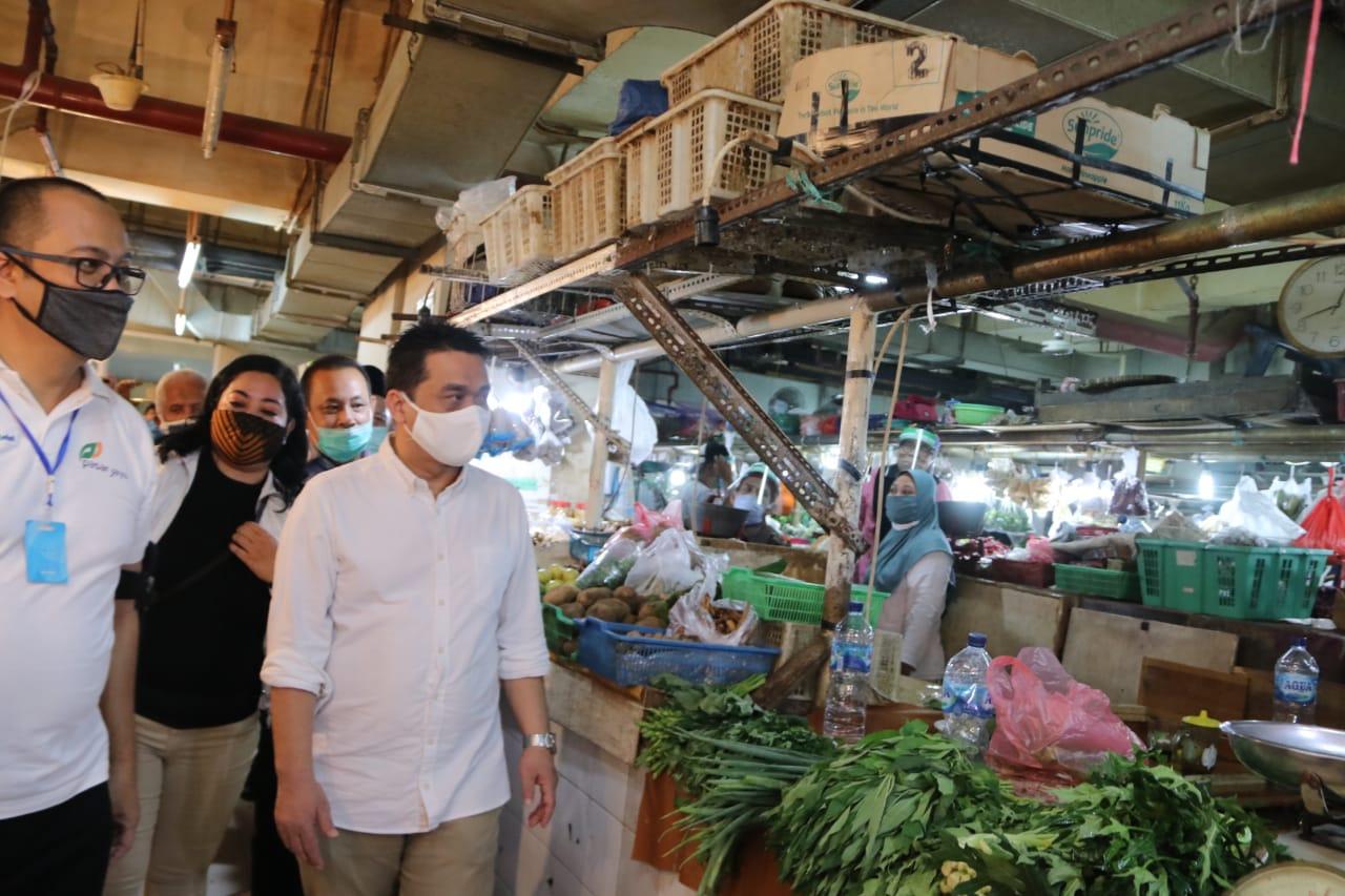 Ariza Kepada Pedagang: Bantu Kami Akhiri Covid-19