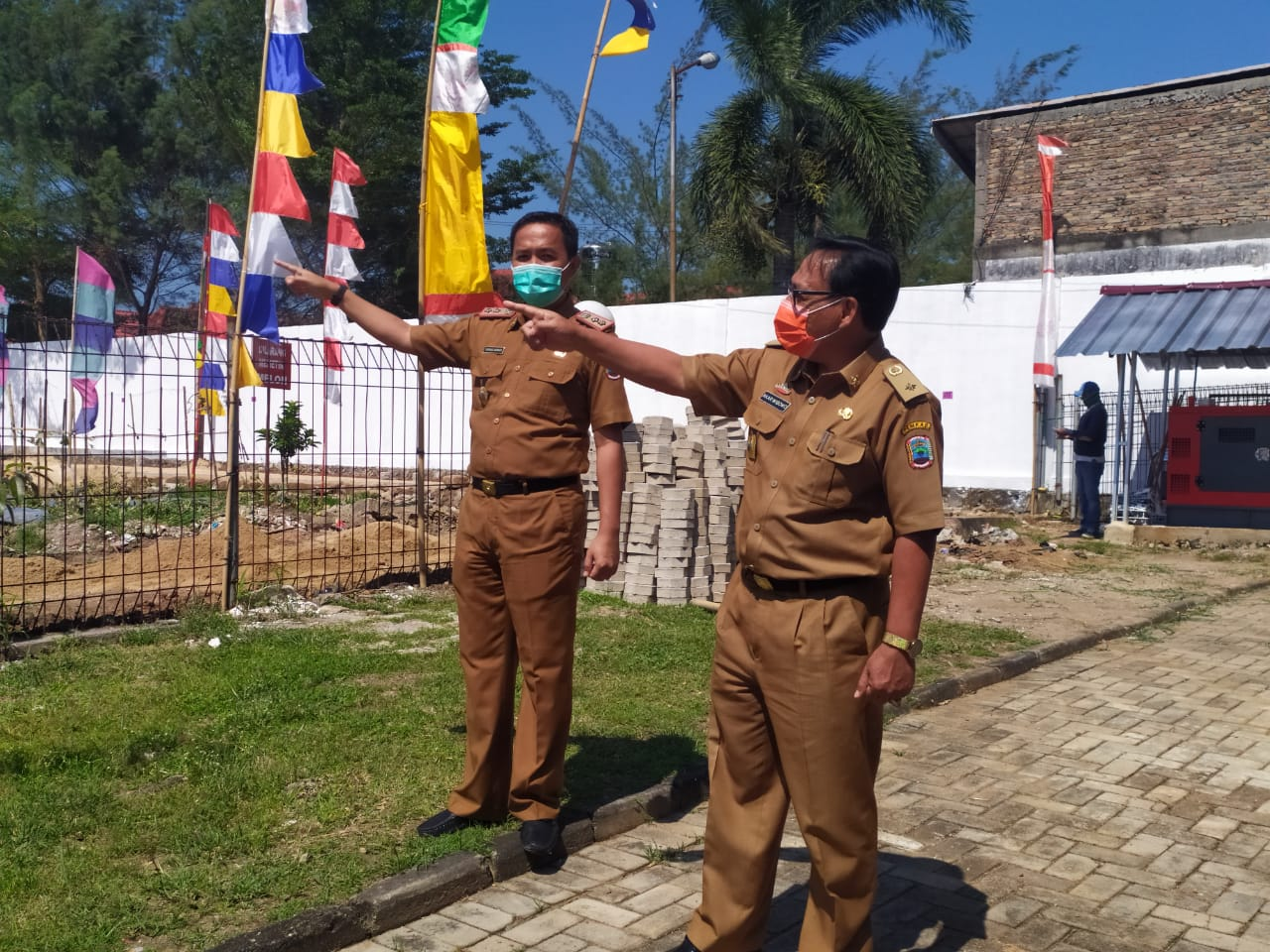 Besok, Lomba Mural HUT RI ke-75 Tingkat Kabupaten Lampung Selatan Digelar