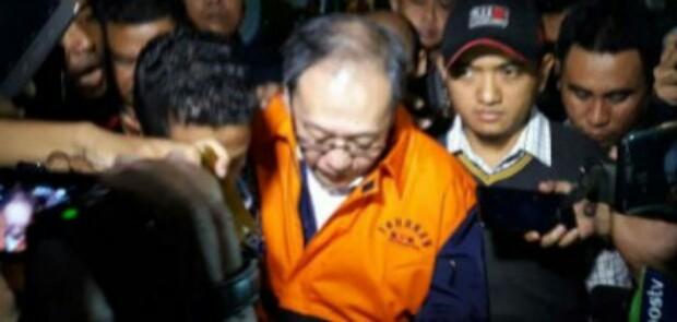 Korupsi E-KTP, KPK Tahan Mantan Bos Gunung Agung