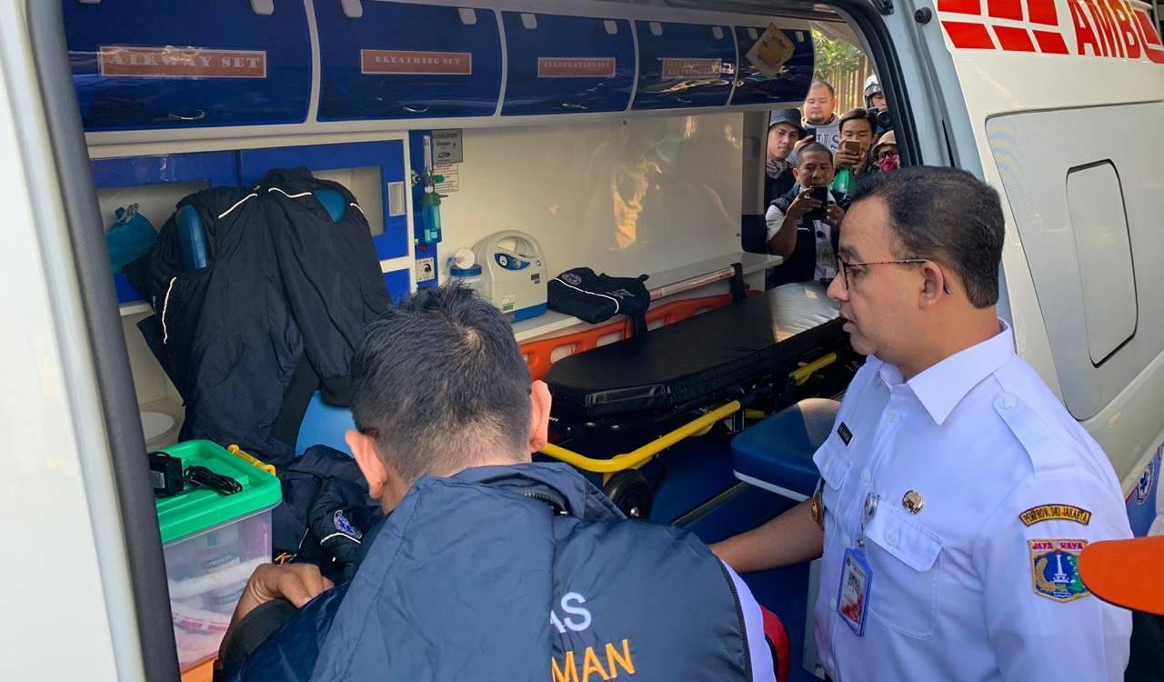 Anies: 737 Orang Dilarikan ke Rumah Sakit Akibat Rusuh 21-22 Mei