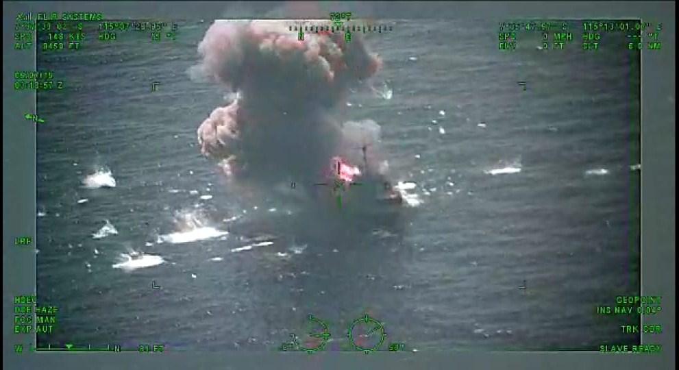 Kogaslagab TNI Berhasil Hancurkan Musuh dengan Peluru Kendali Exocet MM 40 Block-3