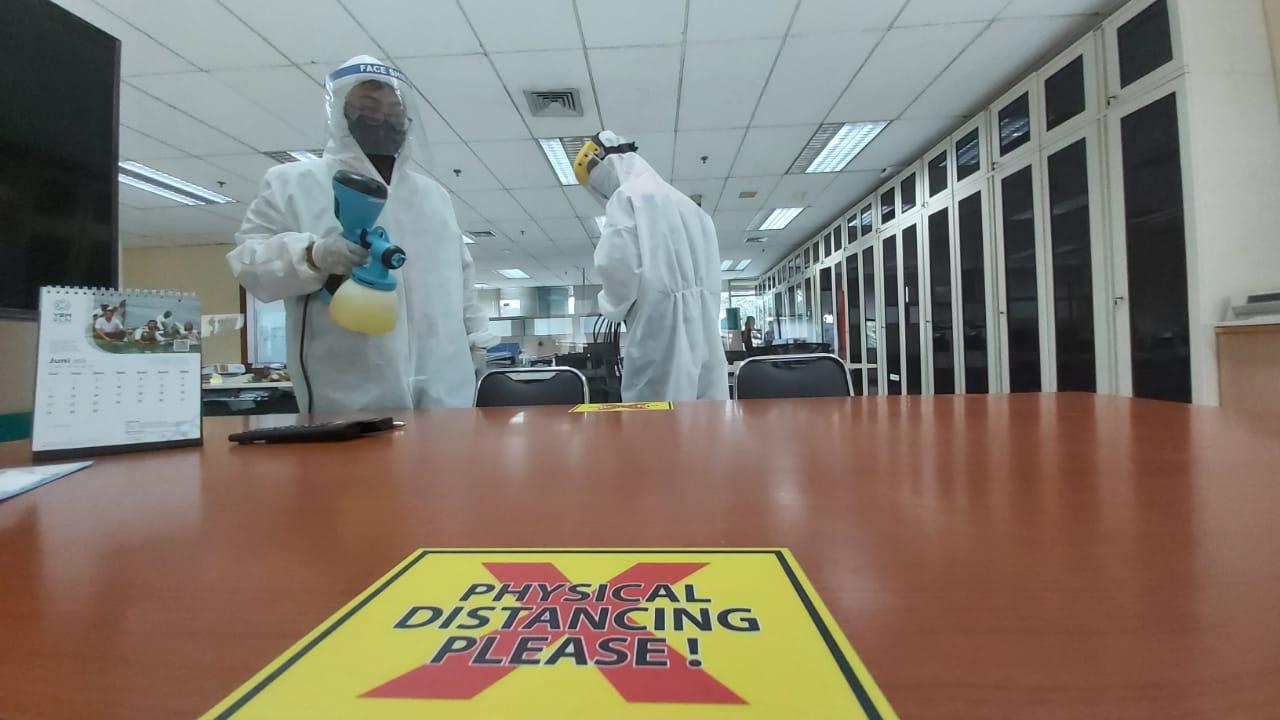 Kantor PLN Pusat Lockdown, Agung: Kami Rutin Semprot Disinfektan