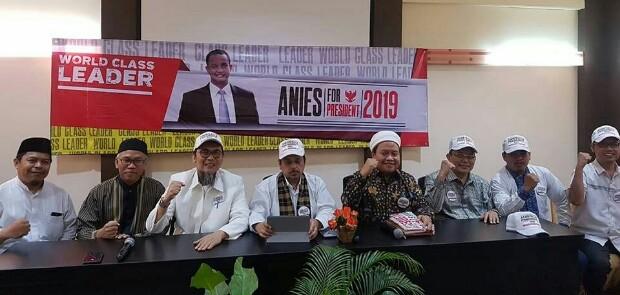 Gerakan Indonesia Untuk Indonesia Deklarasikan Anies Baswedan for President 2019-2024