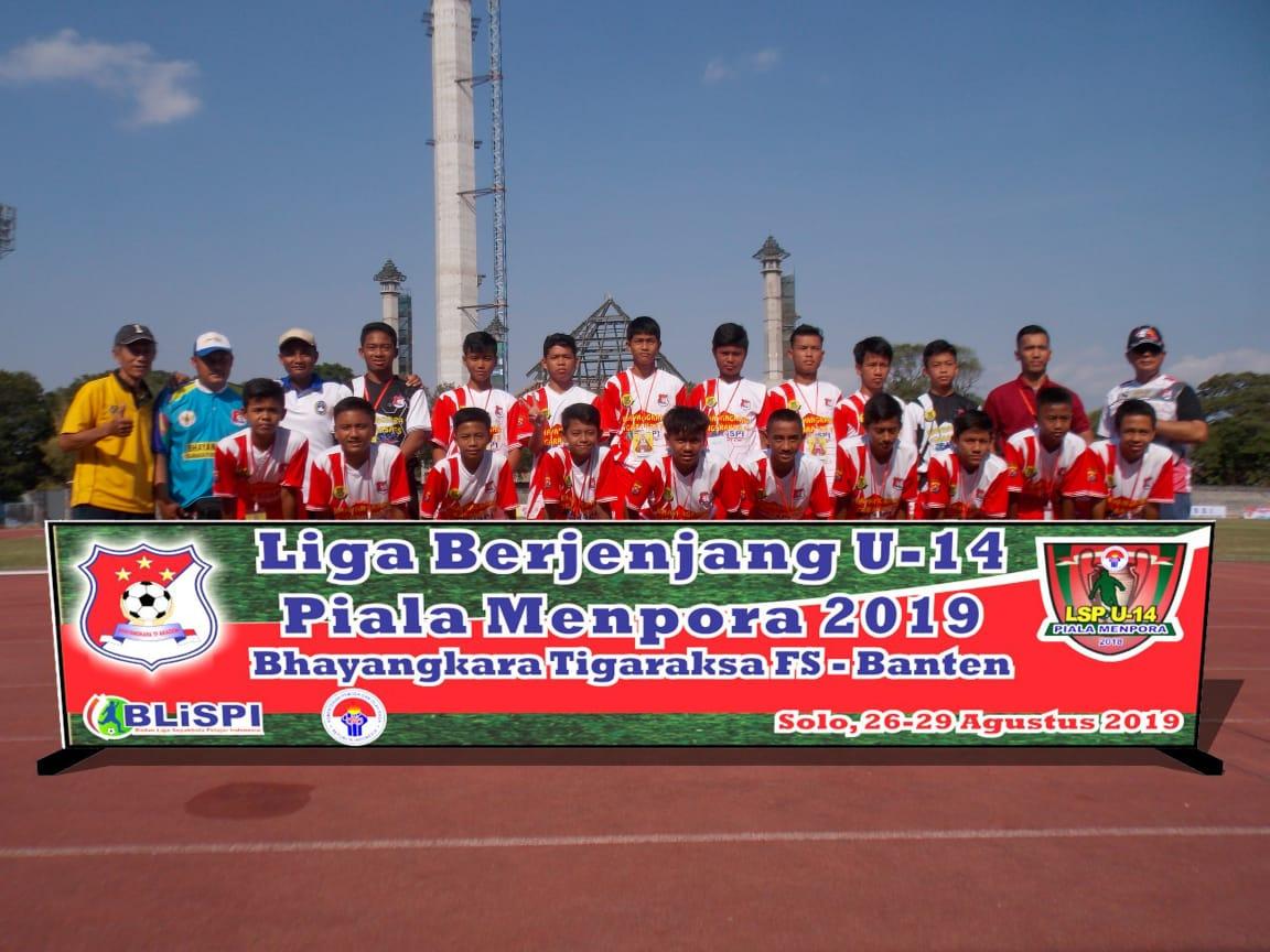 Minim Anggaran, BTFS Tangerang Juara 2 di Ajang Piala Menpora U-14