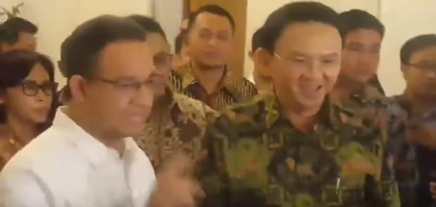 Ahok Tidak Izinkan Tim Transisi Aneis Ubah APBD-P 2017