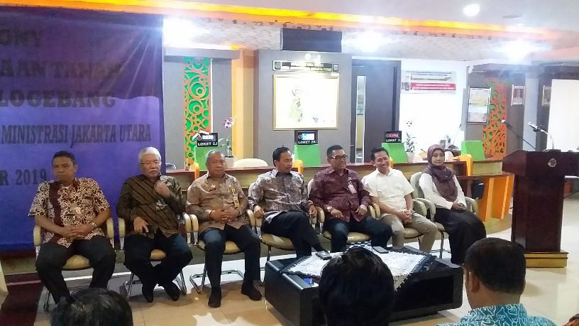Pengadaan Tanah Jalan Tol Sunter-Pulogebang Rampung, BPN Jaktim & Jakut Gelar Syukuran