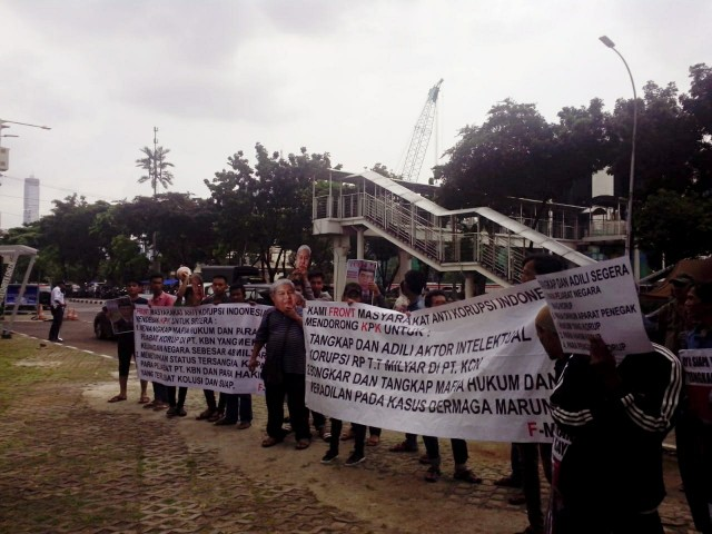 F-MAKI Desak KPK Usut Dugaan Korupsi dan Kolusi Pejabat KBN