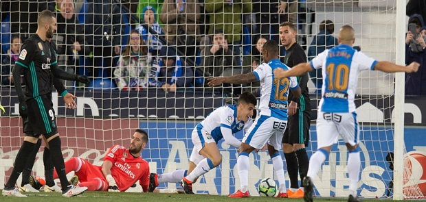 Tanpa Ronaldo, Madrid Taklukkan Leganes 3-1