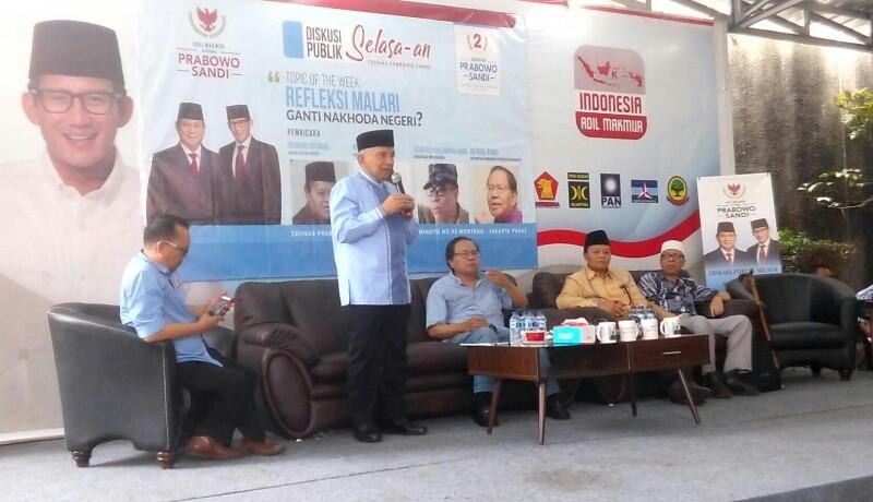 Menurut Amien Rais, Jokowi Bisa Diadili Karena 3 Megaproyek Ini
