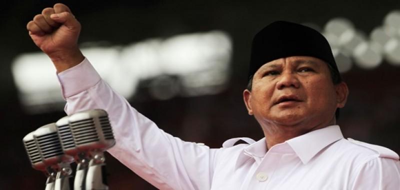Gerindra Resmi Usung Prabowo Sebagai Capres 2019