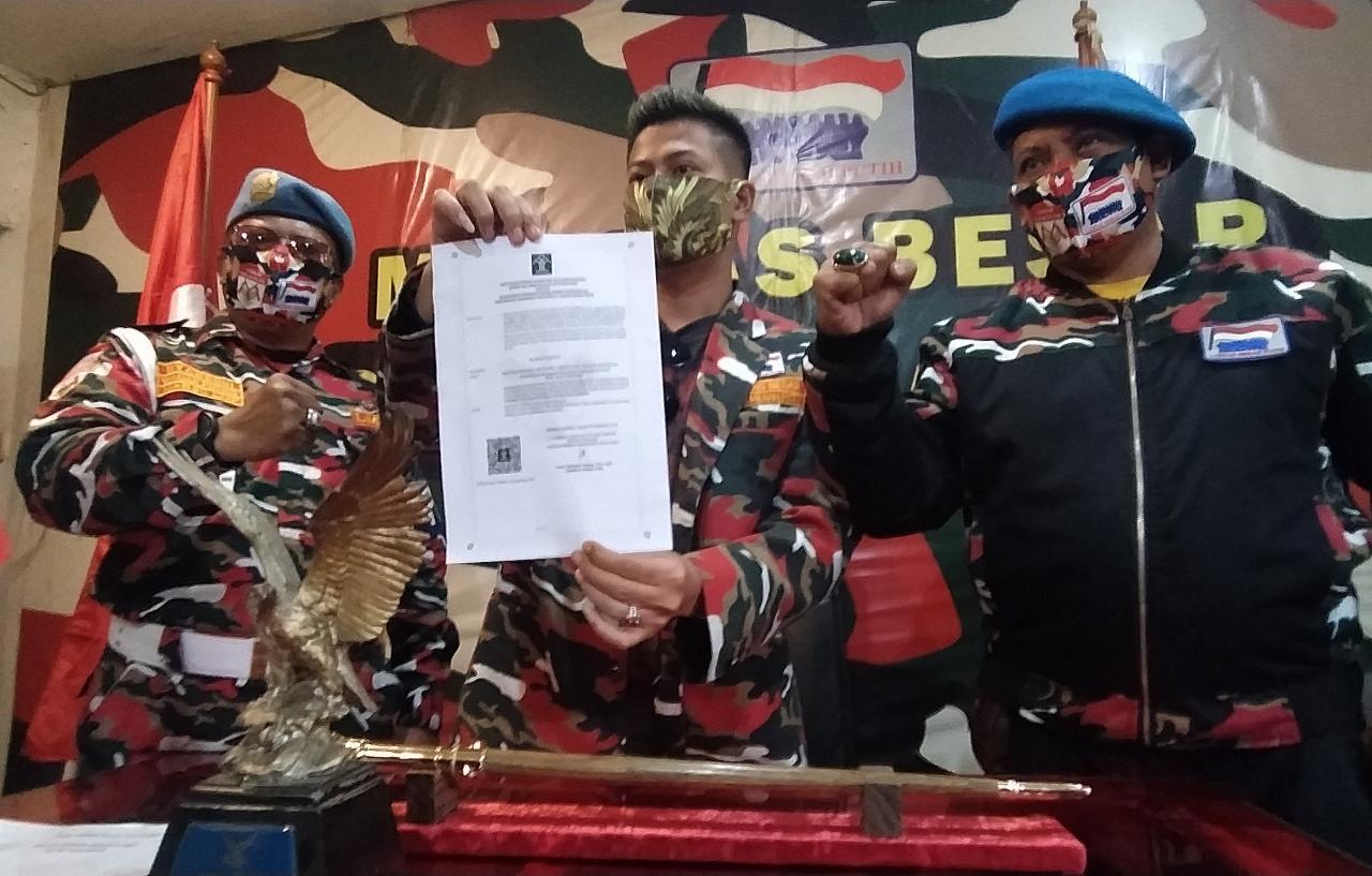 Tunjukkan SKTBH Kemenkumham, Waketum LMP: Kepemimpinan Adek Erfil Manurung Sah!