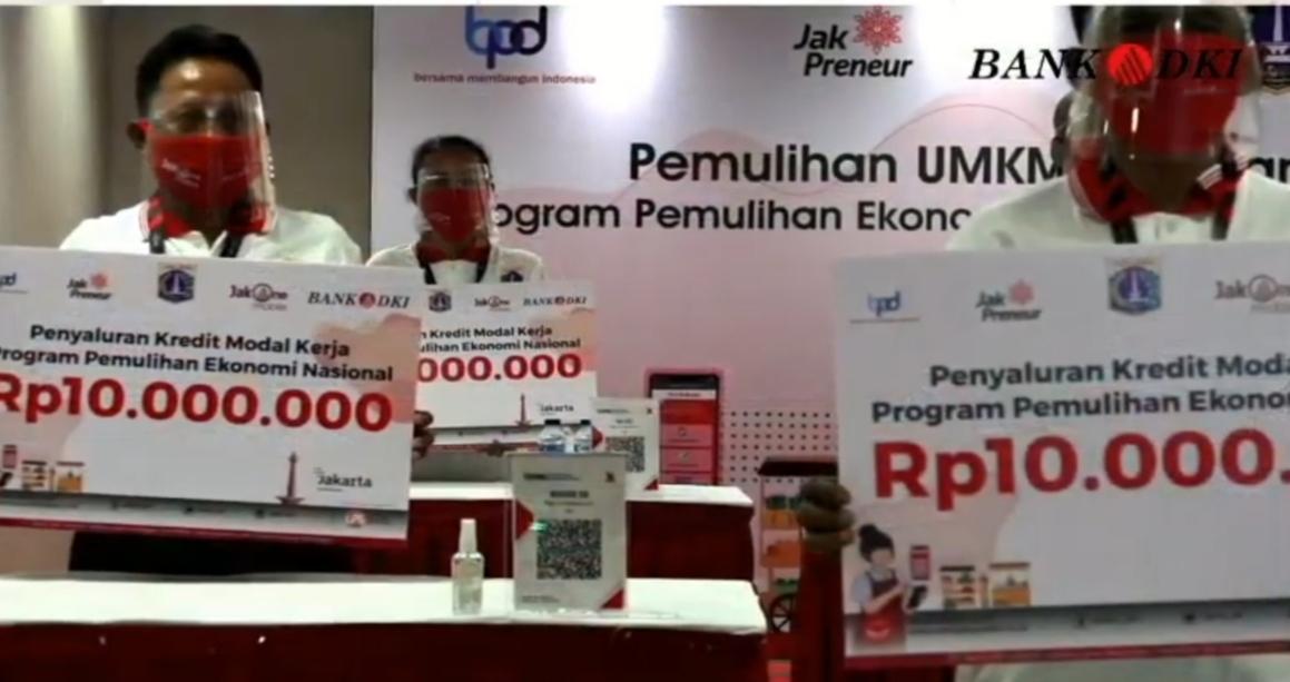 Bantu Pulihkan UMKM Jakarta, Bank DKI Kucurkan Kredit Rp 38,8 Miliar