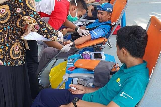 Kompak Peduli, Pegawai PLN Aceh Berjamaah Donor Darah