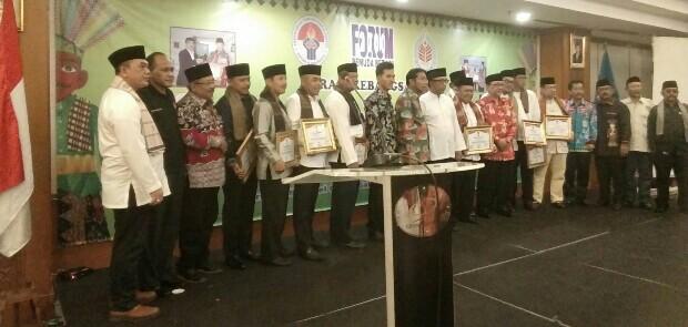 14 Tokoh Dianugerahi Gelar Anggota Kehormatan Forum Pemuda Betawi