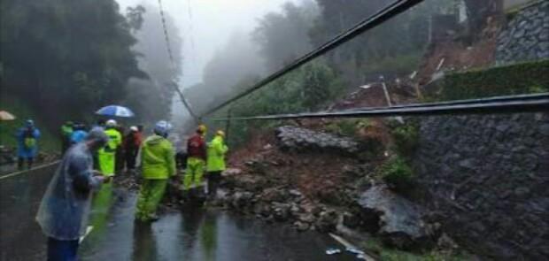 Puncak Pass Longsor, Jalur Gunung Mas-Ciloto Ditutup