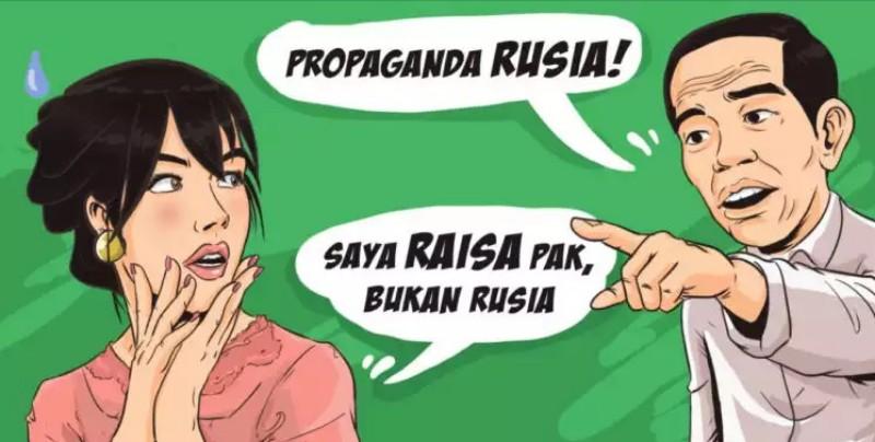 Propaganda Rusia, Maling Kok Teriak Maling?