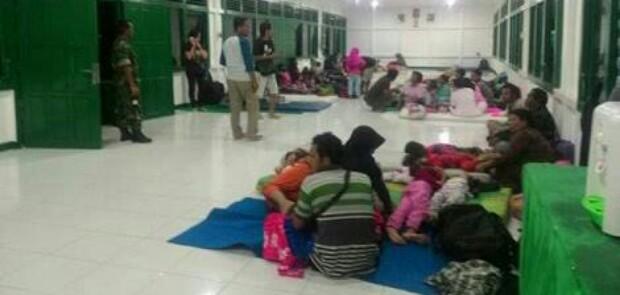 Landak Kisruh Akibat Hasil Pilkada Kalbar, 119 Warga Mengungsi